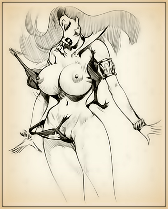 Jessica rabbit sketch nude was