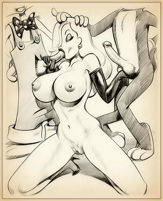 draw porn   jessica rabbit is insatiable